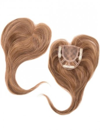 Add On Crown Top Piece Human Hair Hand Tied by Envy