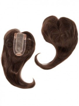 Add On Part Top Piece Human Hair Hand Tied by Envy