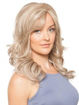 Amber Wig Human Hair Hand Tied Mono Top by Louis Ferre