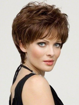 Aubrey Wig Mono Top Hand Tied Human Hair/Synthetic Blend by Envy Clearance Colour