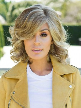 Brave the Wave Wig Lace Front Mono Part by Raquel Welch Clearance Colour