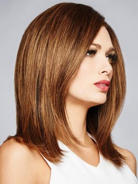Bravo Wig Human Hair Lace Front Full Hand Tied by Raquel Welch