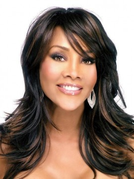 Brie Wig Skin Part Heat Friendly by Vivica Fox