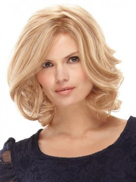 Carrie Wig Human Hair Hand Tied Lace Front by Jon Renau