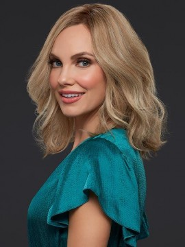 Carrie Elite Wig Human Hair Hand Tied Lace Front by Jon Renau