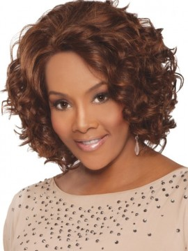 Chante Wig Lace Front Remi Human Hair by Vivica Fox