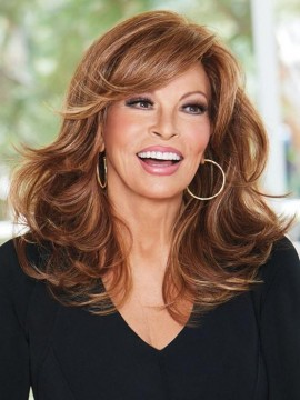 Curve Appeal Wig Lace Front Mono Part Heat Friendly Wig by Raquel Welch