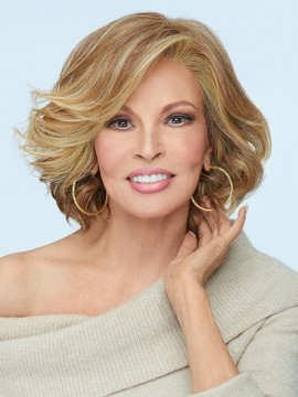 Flirt Alert Wig Lace Front Mono Part Heat Friendly Wig by Raquel Welch