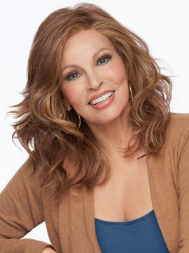 Free Time Wig Lace Front Full Hand Tied Heat Friendly Wig by Raquel Welch