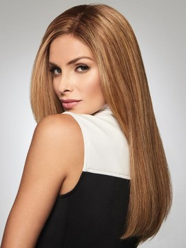 Gilded 18 Topper Mono Top Human Hair by Raquel Welch
