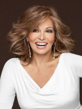 Goddess Wig Lace Front Mono Top Heat Friendly Wig by Raquel Welch