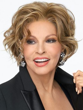 Going Places Wig Lace Front Mono Part Heat Friendly Wig by Raquel Welch