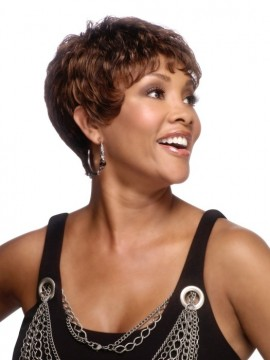 H-222 Wig Human Hair by Vivica Fox Clearance Colour