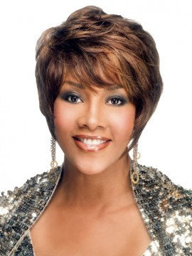 H-311 Wig Human Hair by Vivica Fox Clearance Colour