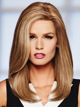 High Profile Wig Human Hair Lace Front Mono Top by Raquel Welch