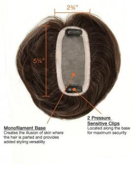Human Hair Bang Mono Base by Raquel Welch