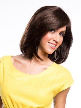 Ivana Wig Human Hair Mono Top by New Image