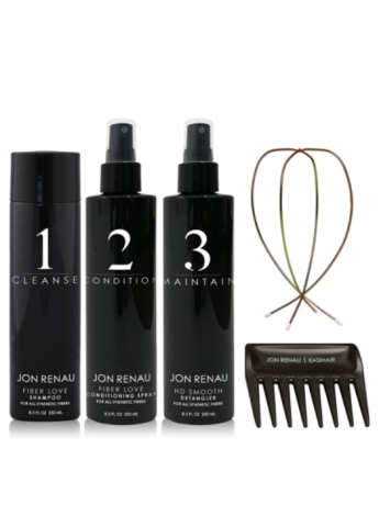Jon Renau 5 Piece Hair Care Kit w/Wire Stand