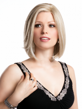Jennifer Wig Lace Front Mono Part Heat Friendly by Moda+Bella