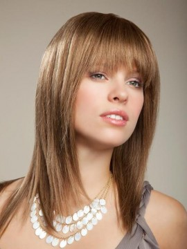 Jewel Wig Human Hair Mono Top by New Image