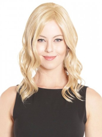 Lace Front Mono Top Wave 14 Hair Piece by Belle Tress