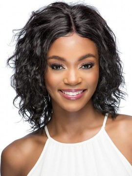 Lapis Wig Lace Front Lace Part Remi Human Hair by Vivica Fox