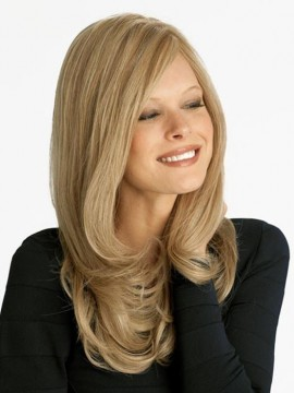 NRC001 Wig Human Hair Hand Tied Mono Top by Louis Ferre