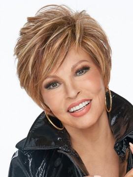 On Your Game Wig Lace Front Mono Part Heat Friendly Wig by Raquel Welch