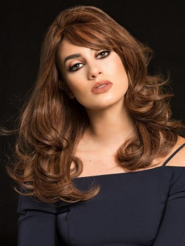 PC106 Wig Human Hair Hand Tied Mono Top by Louis Ferre