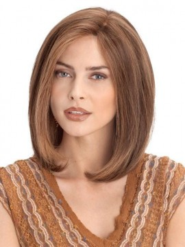 PLF002HM Wig Human Hair Lace Front Hand Tied Mono Top by Louis Ferre