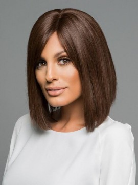 PLF009HM Wig Human Hair Lace Front Hand Tied Mono Top by Louis Ferre