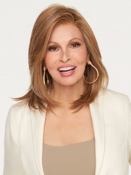 Pretty Please Wig Lace Front Full Hand Tied Heat Friendly Wig by Raquel Welch