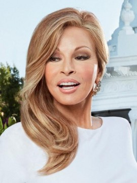 Provocateur Wig Remy Human Hair Lace Front French Mono Top Hand Tied by Raquel Welch
