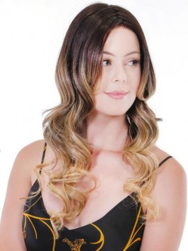 Pure Honey Balayage Wig Lace Front Mono Top by Belle Tress