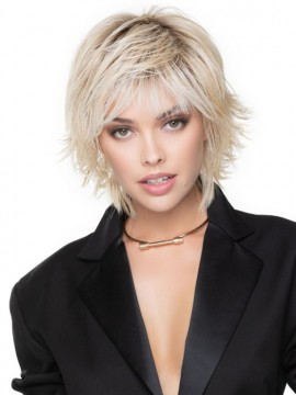 Razor Cut Shag Wig Heat Friendly by Tressallure