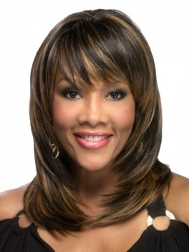 Rumer Wig Skin Part Heat Friendly by Vivica Fox Clearance Colour
