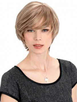 Sapphire Wig Human Hair Hand Tied Mono Top by Louis Ferre