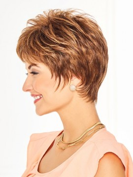 Serving Style Wig Lace Front Mono Top by Eva Gabor