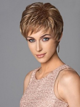 Short & Sweet Wig Hand Knotted Top by Eva Gabor Clearance Colours