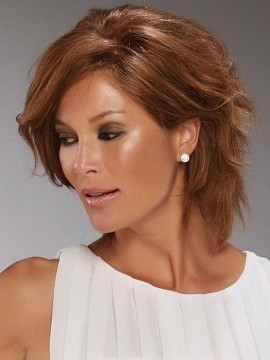 Sophia Wig Remy Human Hair Lace Front Full Hand Tied by Jon Renau