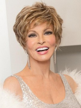 Sparkle Elite Wig Lace Front Mono Top by Raquel Welch