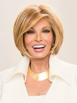 Straight Up With a Twist Wig Lace Front Mono Top Heat Friendly Wig by Raquel Welch