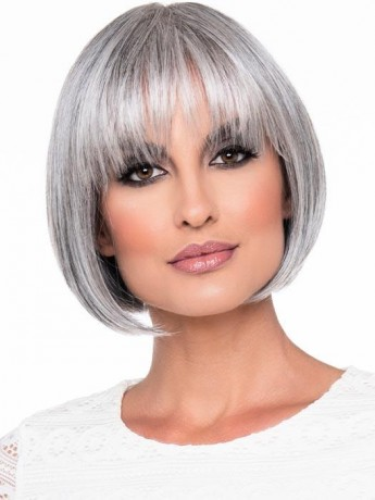 Tandi Wig Mono Crown Human Hair/Synthetic Blend by Envy Clearance Colour