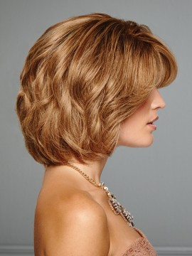 The Art of Chic Wig Remy Human Hair Lace Front French Mono Top Hand Tied by Raquel Welch