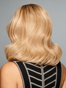 The Good Life Wig Remy Human Hair Lace Front French Mono Top Hand Tied by Raquel Welch
