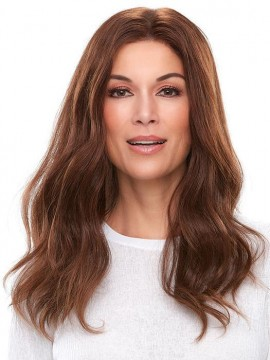 Top Smart 18 Elite Remy Human Hair Piece Mono Top by Jon Renau
