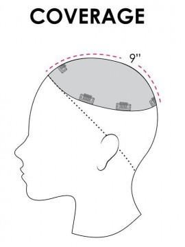 Top Smart 18 Remy Human Hair Piece Mono Top by Jon Renau