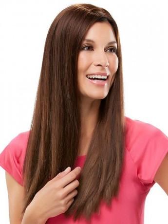 Top Form 18 Remy Human Hair Piece Mono Top by Jon Renau