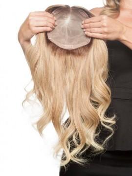 Top Form 18 Elite Remy Human Hair Piece Mono Top by Jon Renau
