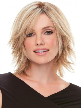 Top Form 8 Elite Remy Human Hair Piece Mono Top by Jon Renau